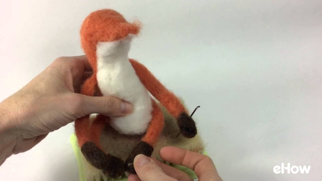 How To Make A Felted Fox The Little Prince Youtube