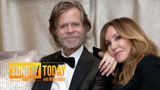 William H. Macy On His 'Fairy-Tale Marriage' To Felicity Huffman | Sunday TODAY