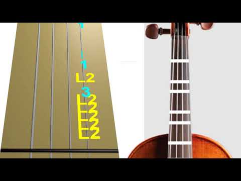 Despacito - Violin - Play Along Tab Tutorial