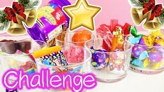 XXL CANDY CHALLENGE Weihnachten | Süßigkeiten + eklige Jelly Beans | Eva und Kathi DIY Inspiration