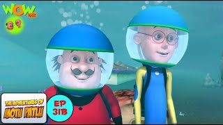 Mermaid - Motu Patlu in Hindi - 3D Animation Cartoon for Kids -As seen on Nickelodeon