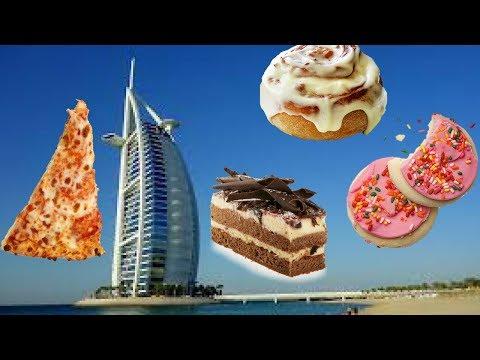 EATING BREAKFAST IN THE BURJ AL ARAB **dubai**
