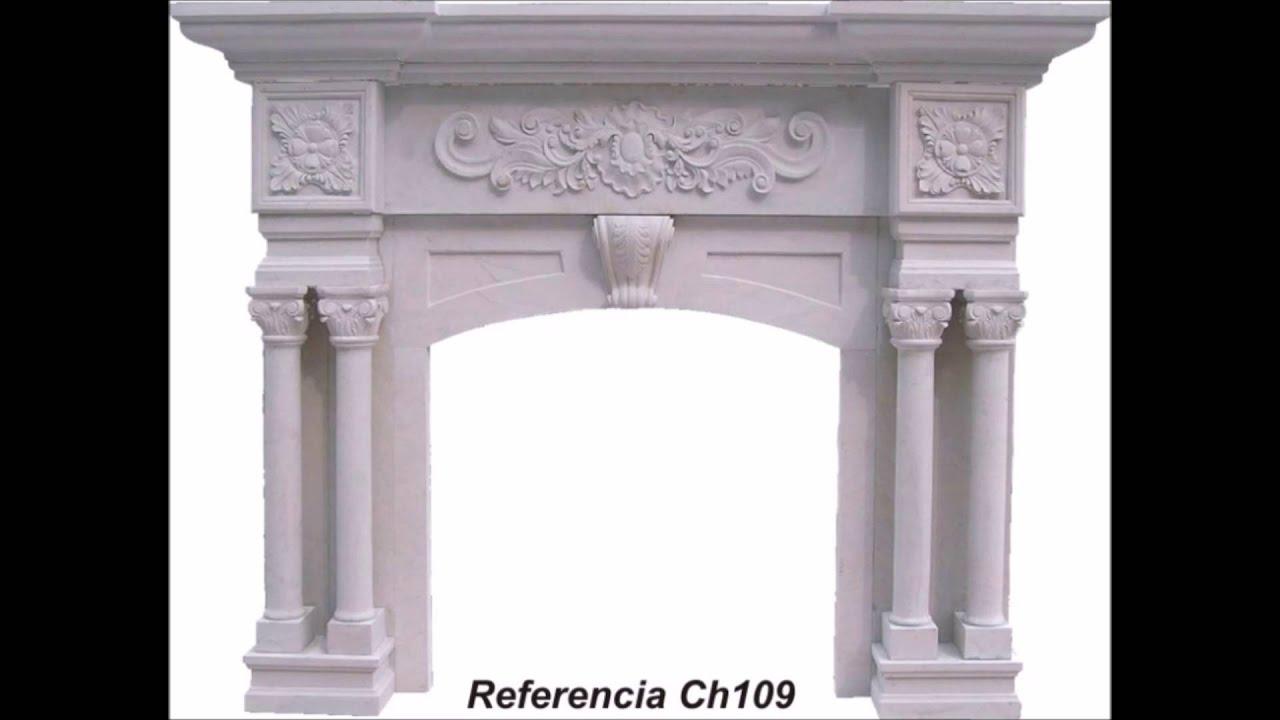 Chimeneas de m rmol ejemplos de modelos y trabajos for Modelos de marmol y granito
