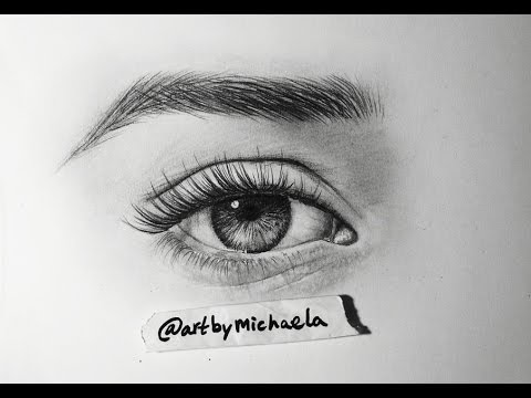 Tutorial how do draw a realistic eye