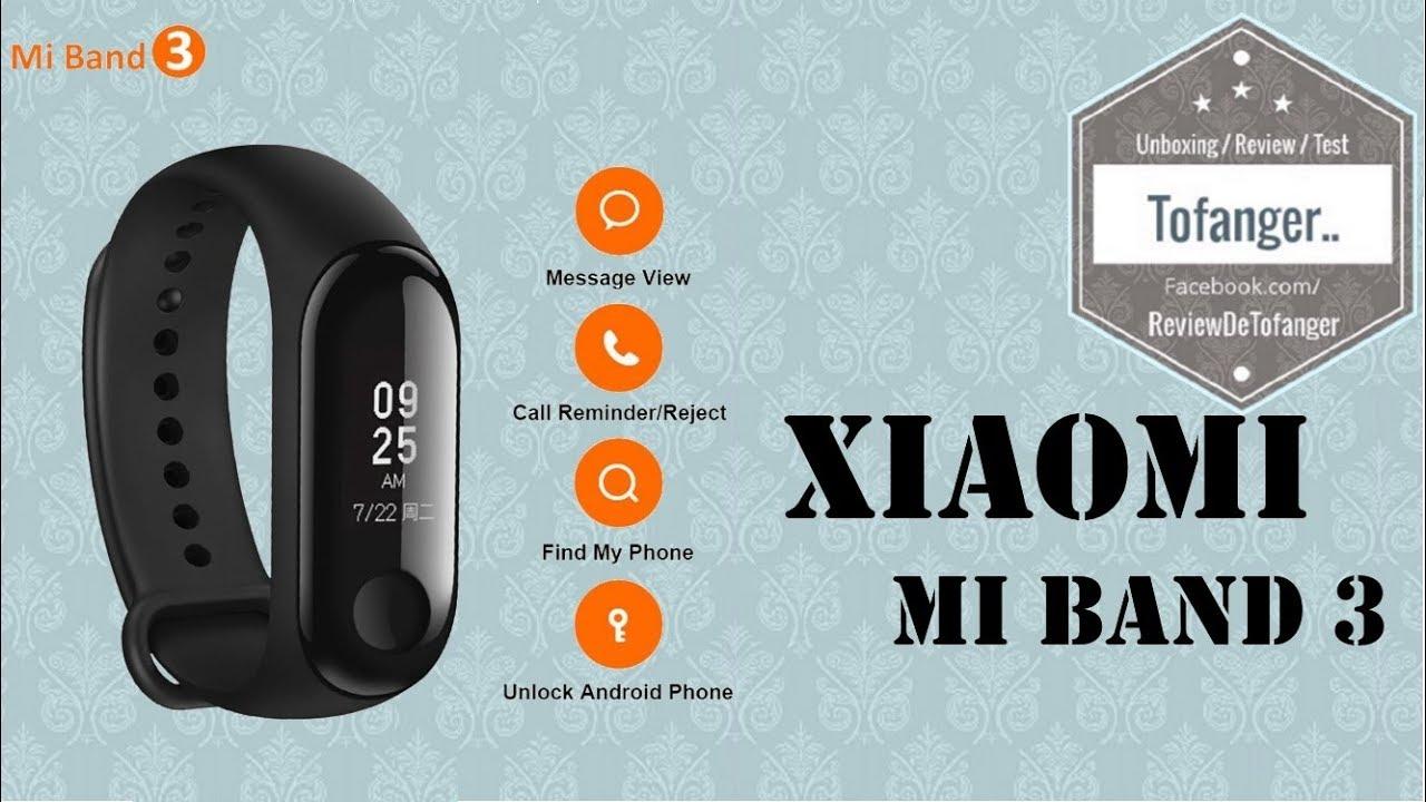 Xiaomi Mi Band 3 Smart Bracelet A 22 Youtube Oled Display Free Screen Guard