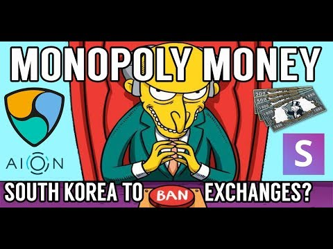 CRYPTO NEWS! South Korea to Ban Exchanges? AION, SNOV, NEM