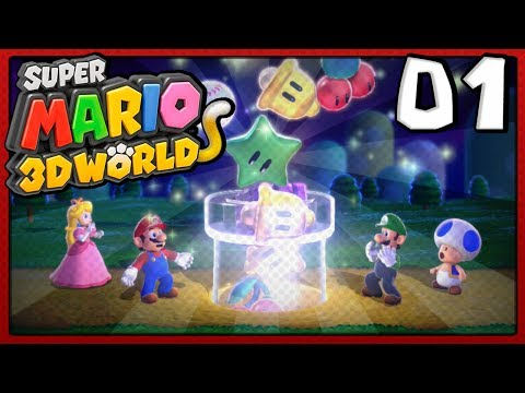 Super Mario 3D World Co-Op - Episode 1 | Cats!