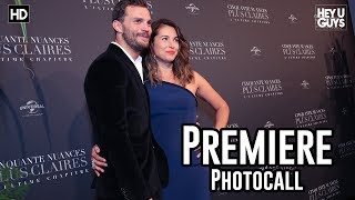 Fifty Shades Freed Premiere Photocall - Jamie Dornan, Dakota Johnson, Liam Payne