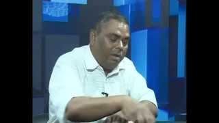 Upendra Yadav  with Rishi Dhamala Intervhu...