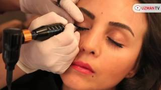 Kalici makyaj ile eyeliner nasil uygulanir qtp