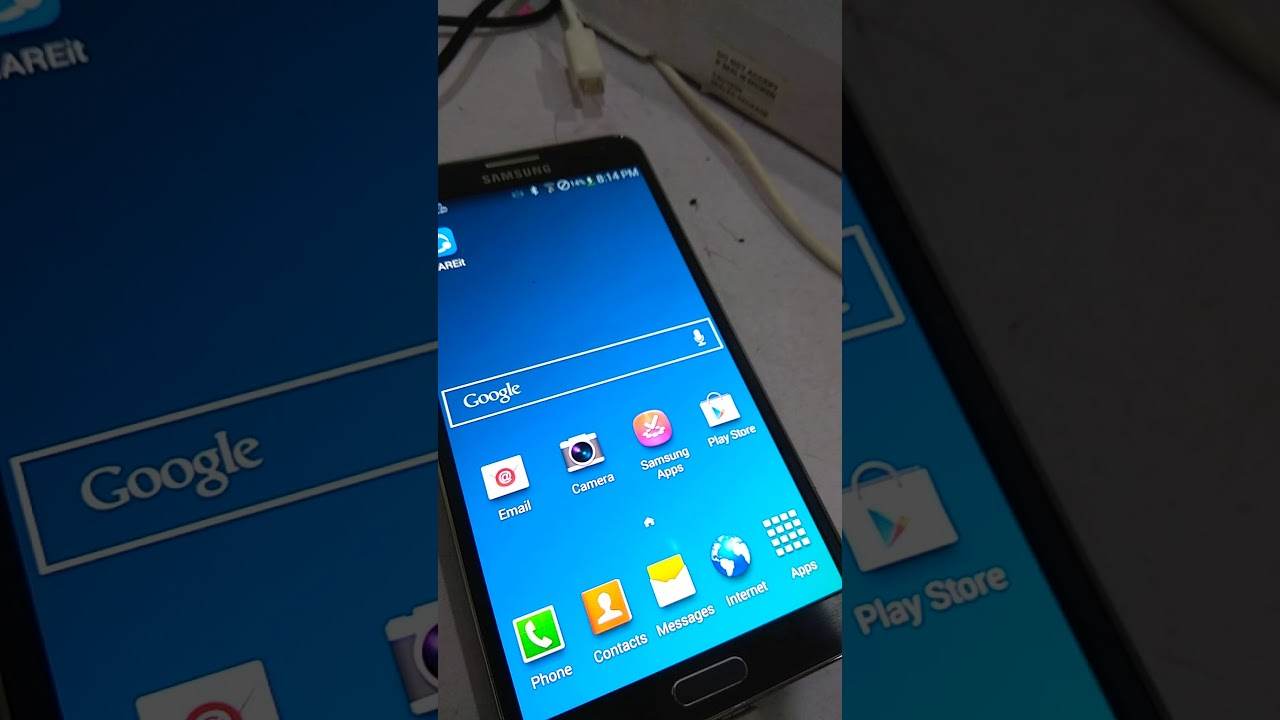 How to know Samsung Galaxy Note 3 is LIVE DEMO UNIT FULL VIDEO
