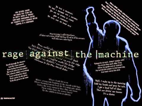 Rage Against The Machine Greatest Hits 2013 Fan Made By