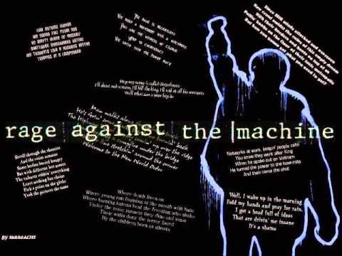 rage against the machine hits
