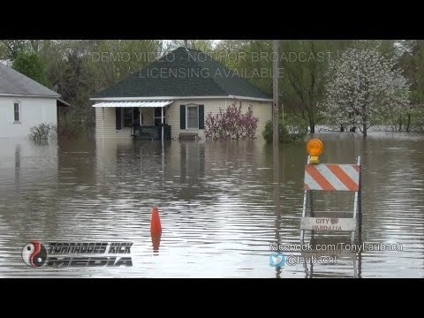 2013-04-19 Record Flooding - Vandalia, IL