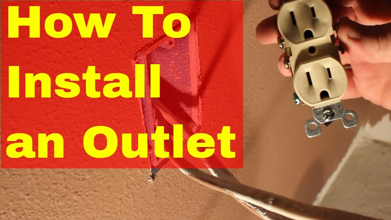 Two Way Light Switch Wiring Diagram Australia 12v Caravan Ctek How To Install An Electrical Outlet Loop Example Youtube