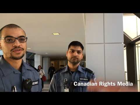 Canadian Rights Audit: Calgary +15 Filming The Jehovah's Witnesses Featuring GardaWorld Security