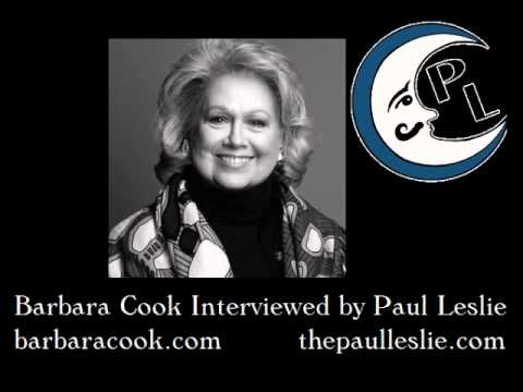 Barbara Cook Interview on The Paul Leslie Hour