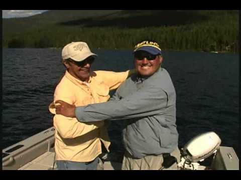 """Drop Shotting Giant Summer Lake Trout! """"Angler's Xperience Episode 17 Part:1"""""""