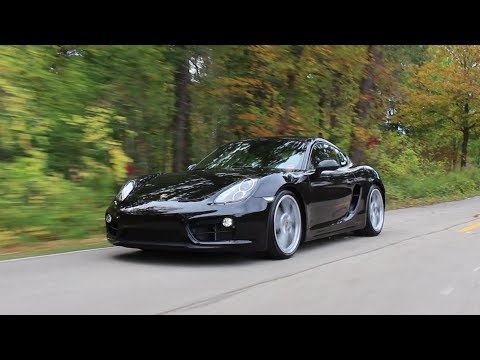 Is The Mid-Engined Cayman Better Than The 911?? | 2016 Porsche Cayman Black Edition