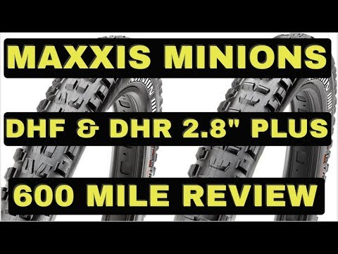 29er To 27 5 Conversion Maxxis Minion Plus Tires 600 Mile Review