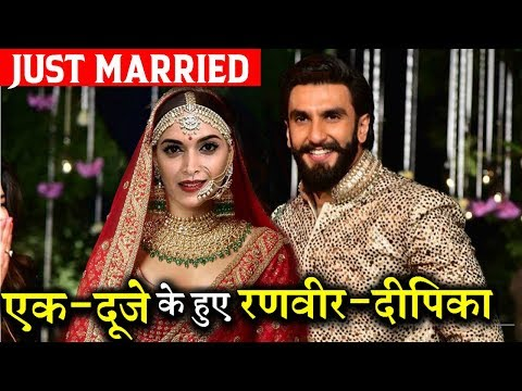 Finally! Deepika Padukone and Ranveer Singh Got Married