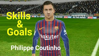 Philippe Coutinho Skills Goals⚫ FC Barcelona ⚫Dream League Soccer 2019