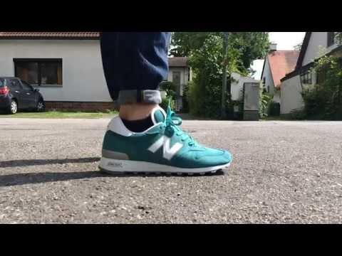 d368efa759682 New Balance 1300 NW Teal & Silver On Feet - YouTube