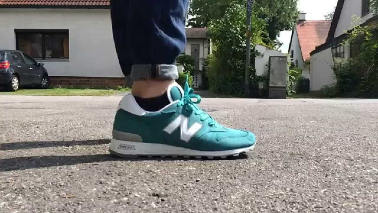 new balance 1300 on feet