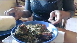 Christmas is for eating Nigerian Mukbangs Eating video