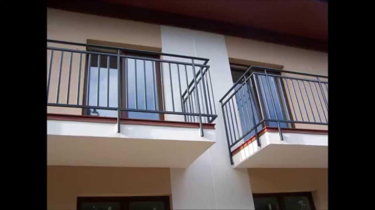 Młodzieńczy 7.Barierki balustrady poręcze balkonowe o nowoczesnym wzorze XV47
