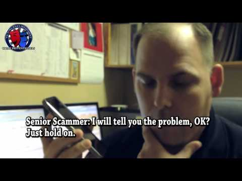 The Cop and The Scammer TWO - Microsoft Technical Support Scam