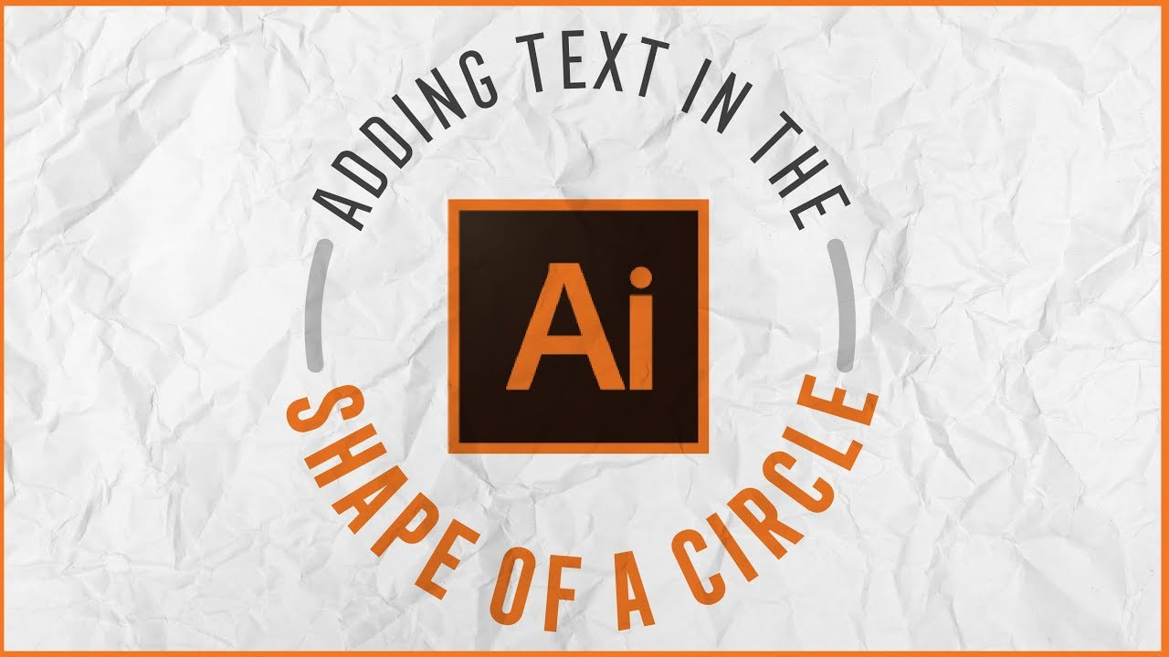 How to create text around a circle in illustrator