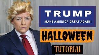 Donald Trump Halloween Tutorial