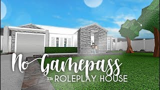 Roblox | Bloxburg | No Gamepass Roleplay Home 33k