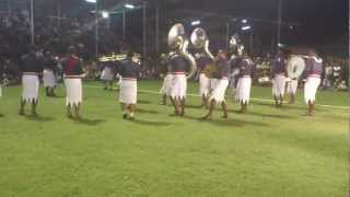 Fiji Police Band in Labasa 2012 Part 2
