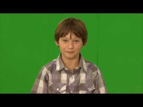 Jared Gilmore  Green Screen Message