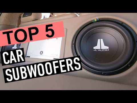 BEST 5: Car Subwoofers 2019