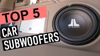 BEST 5: Car Subwoofers
