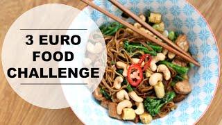 €3 food challenge - complete wokmaaltijd