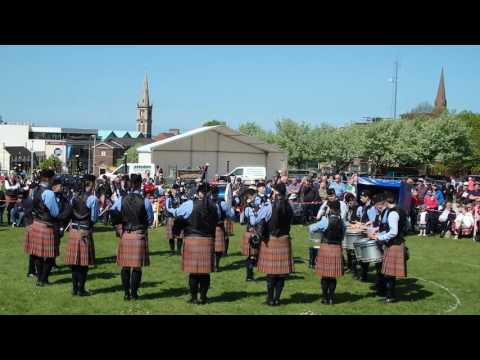 Closkelt Pipe Band - Ards & North Down Championships 2016 - MSR