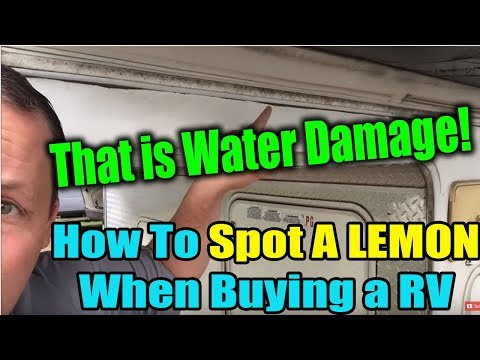 How to Spot a Lemon When Buying a RV