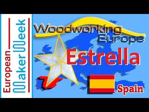 Woodworking European Collaboration Build 2016 | Estrella de madera