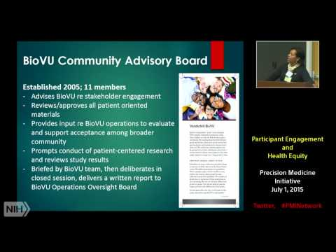 Participant Engagement and Health Equity Workshop - July 1-2, 2015 - Day 1 Mp3