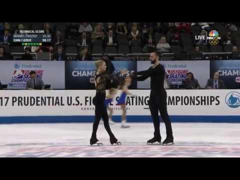 2017 US Figure Skating Championships - Pairs Short Program - Ashley Cain & Timothy LeDuc