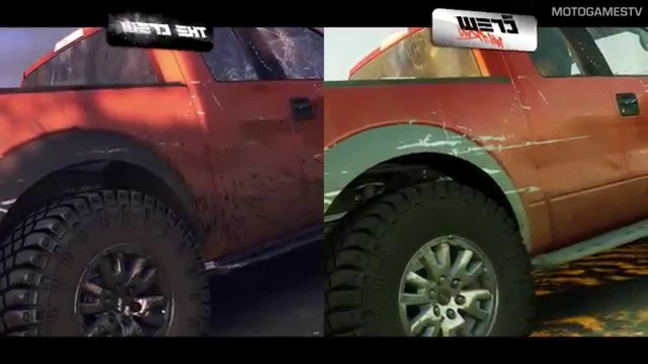 The Crew Xbox One : the crew vs the crew wild run graphics comparison xbox one youtube ~ Aude.kayakingforconservation.com Haus und Dekorationen
