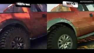 The Crew vs The Crew Wild Run - Graphics Comparison [Xbox One]