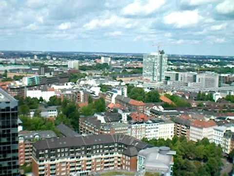 Hamburg From St. Michaelis Church