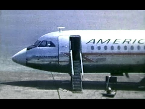 """American BAC One-Eleven """"400 Astrojet"""" - """"Ramp Action Boston"""" - 1968"""