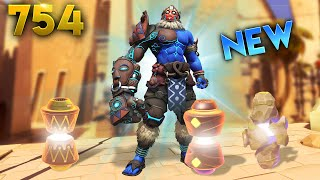 *NEW* SUPPORT CHARACTER!!   Overwatch Daily Moments Ep.754 (Funny and Random Moments)
