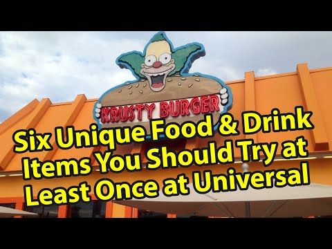 Top Six Unique Food & Drink At Universal Orlando You Really Must Try At Least Once